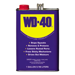 WD-40® Heavy-Duty Lubricant, 1 Gallon Can, 4/Carton