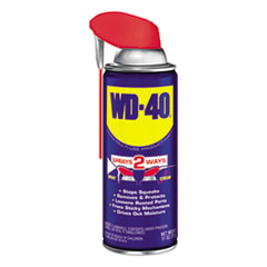 WD-40® Smart Straw Spray Lubricant, 11 oz. Aerosol Can, 12/Carton