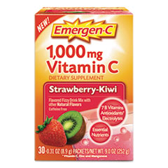 Emergen-C® Immune Defense Drink Mix, Strawberry Kiwi, 0.31 oz Packet, 30/Box ALA130319