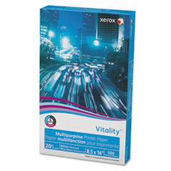Vitality Multipurpose Printer Paper, 8 1/2 X 14, White, 500