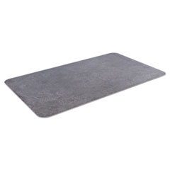 Crown Workers-Delight Slate Standard Anti-Fatigue Mat, 24 x 36, Dark Gray