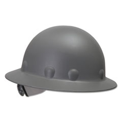 Fibre-Metal® by Honeywell SuperEight Thermoplastic Hard Hat, 3-R Ratchet Suspension, Gray