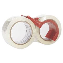 Universal® Heavy-Duty Acrylic Box Sealing Tape with Dispenser Thumbnail