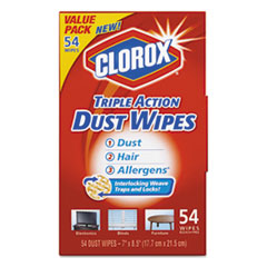 Clorox® Triple Action Dust Wipes Thumbnail