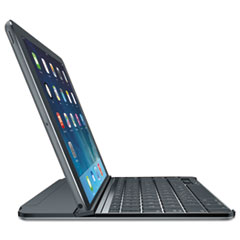 "Logitech Ultrathin Keyboard/Cover Case for 10.6"" iPad - Gray - 6.9"" Height x 9.5"" Width x 0.3"" Depth LOG920006523"