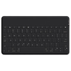 Logitech® Keys-to-Go Ultra-Portable Stand-Alone Wireless Keyboard, Bluetooth, Black LOG920006701