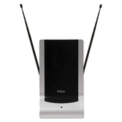 Indoor Digital TV Antenna, Amplified, 40-Mile Range