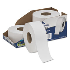 Georgia Pacific® Professional White Jumbo Bathroom Tissue, Septic Safe, 2-Ply, 3 1/2 x 1000 ft, 4/Carton