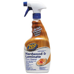Zep Commercial® Hardwood and Laminate Cleaner, 32 oz Spray Bottle