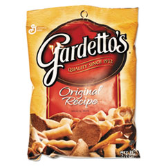 General Mills Gardetto's Snack Mix, Original Flavor, 5.5 oz Bag, 7/Box