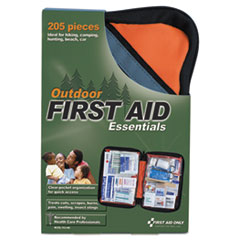 First Aid Only™ Outdoor Softsided First Aid Kit for 10 People, 205 Pieces/Kit
