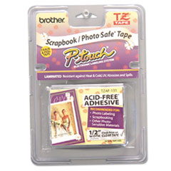 Brother P-Touch® TZ Series Photo and Scrapbook Safe Tape Thumbnail