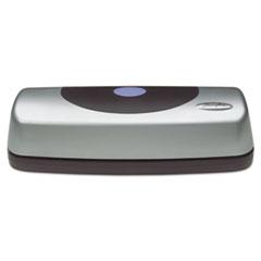 Swingline® 15-Sheet Electric Portable Desktop Punch, Silver/Black