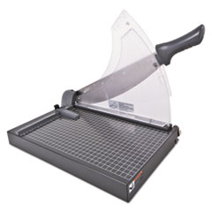 Swingline® Heavy-Duty Low Force Guillotine Trimmer, 40 Sheets, Metal Base, 10 1/2 x 17 1/2