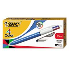 BIC® 4-Color™ Retractable Ballpoint Pen Thumbnail