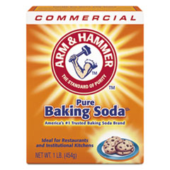 Baking Soda, 1 lb Box, 24/Carton