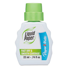 Fast Dry Correction Fluid, 22 ml Bottle, White, 1/Dozen