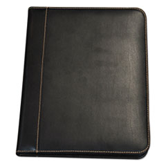 Samsill® Contrast Stitch Leather Padfolio Thumbnail