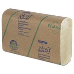 Multi-Fold Paper Towels, 9 2/5 x 9 1/5, Soft Wheat, 250/Pack, 16 Pack/Carton KCC43751