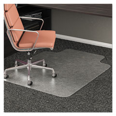 deflecto® RollaMat® Frequent Use Chair Mat for Medium Pile Carpeting