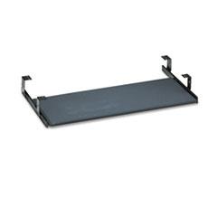 Bush® Universal Keyboard Shelf Accessory, 30.13w x 16.63d x 4h, Black
