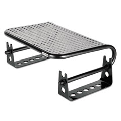 Metal Art Monitor Stand Risers, 4 3/4 x 8 3/4 x 2 1/2, Black