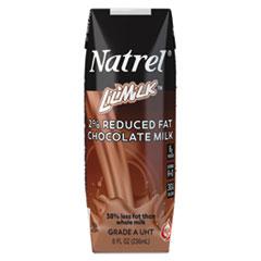 Natrel® Milk, 2% Reduced Fat Chocolate Milk, 8 oz Tetra Pack, 18/Carton AGO30386