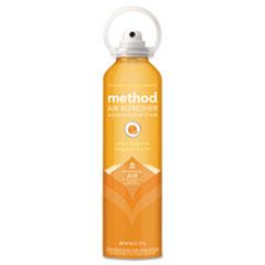Method® Air Refresher, Sweet Tangerine, 6.9 oz Aerosol, 6/Carton