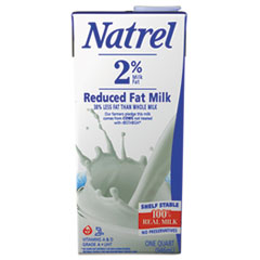 Natrel® Milk, 2% Reduced Fat Milk, 32 oz Tetra Pack, 12/Carton AGO30482