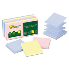 Post-it® Greener Notes Original Recycled Pop-up Notes Thumbnail