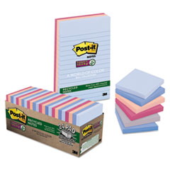 Post-it® Notes Super Sticky Recycled Notes in Bali Colors Thumbnail