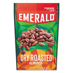 Emerald® Dry Roasted Almonds, 5 oz Pack, 6/Carton DFD33664