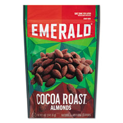 Emerald® Cocoa Roasted Almonds, 5 oz Pack, 6/Carton DFD86364