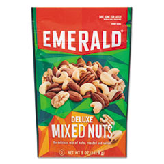 Emerald® Deluxe Mixed Nuts, 5 oz Pack, 6/Carton DFD53664