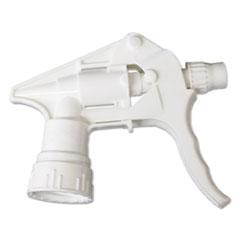 "Boardwalk® Trigger Sprayer 250 f/24 oz Bottles, White, 8""Tube, 24/Carton BWK58108"