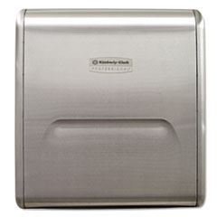 Kimberly-Clark Professional* Mod Stainless Steel Recessed Dispenser Housing, 11.13 x 4 x 15.37