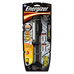 Energizer® Hard Case Work Flashlight w/4 AA Batteries, Black