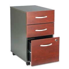 Bush® Series C Three-Drawer Mobile Pedestal File Thumbnail