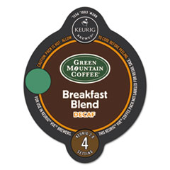 Green Mountain Coffee® Vue Packs, Breakfast Blend, Decaf, 16/Box