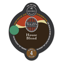 Tully's Coffee® House Blend Coffee Vue Pack, 16/Box