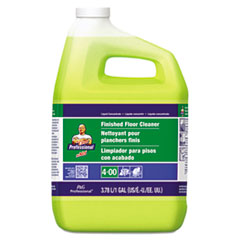 Finished Floor Cleaner, Lemon Scent, One Gallon Bottle