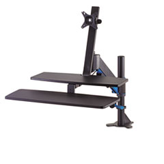 Kensington® Sit-Stand Workstation with SmartFit, 48 x 34 x 44 3/4, Black