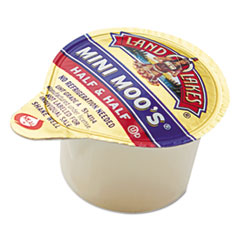 Land O' Lakes® Mini Moo's Half and Half, 0.3 oz, 192/Carton