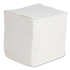 Boardwalk® DRC Wipers, White, 12 x 13, 12 Bags of 90, 1080/Carton
