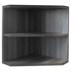 Mayline® Medina Series Laminate Hutch Support, 15w x 15d x 20h, Gray Steel