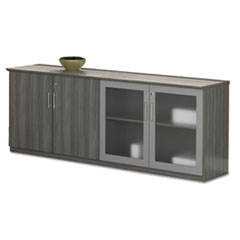 Mayline® Medina™ Series Low Wall Cabinet with Doors Thumbnail