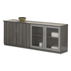 Safco® Medina(TM) Series Low Wall Cabinet with Doors