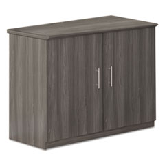 Safco® Medina Series Storage Cabinet, 36w x 20d x 29 1/2h, Gray Steel