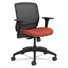 HON® Quotient Series Mesh Mid-Back Task Chair, Poppy HONQTMMY1ACU42