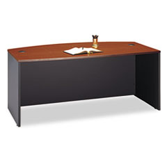 Bush® Series C Collection Bow Front Desk Thumbnail